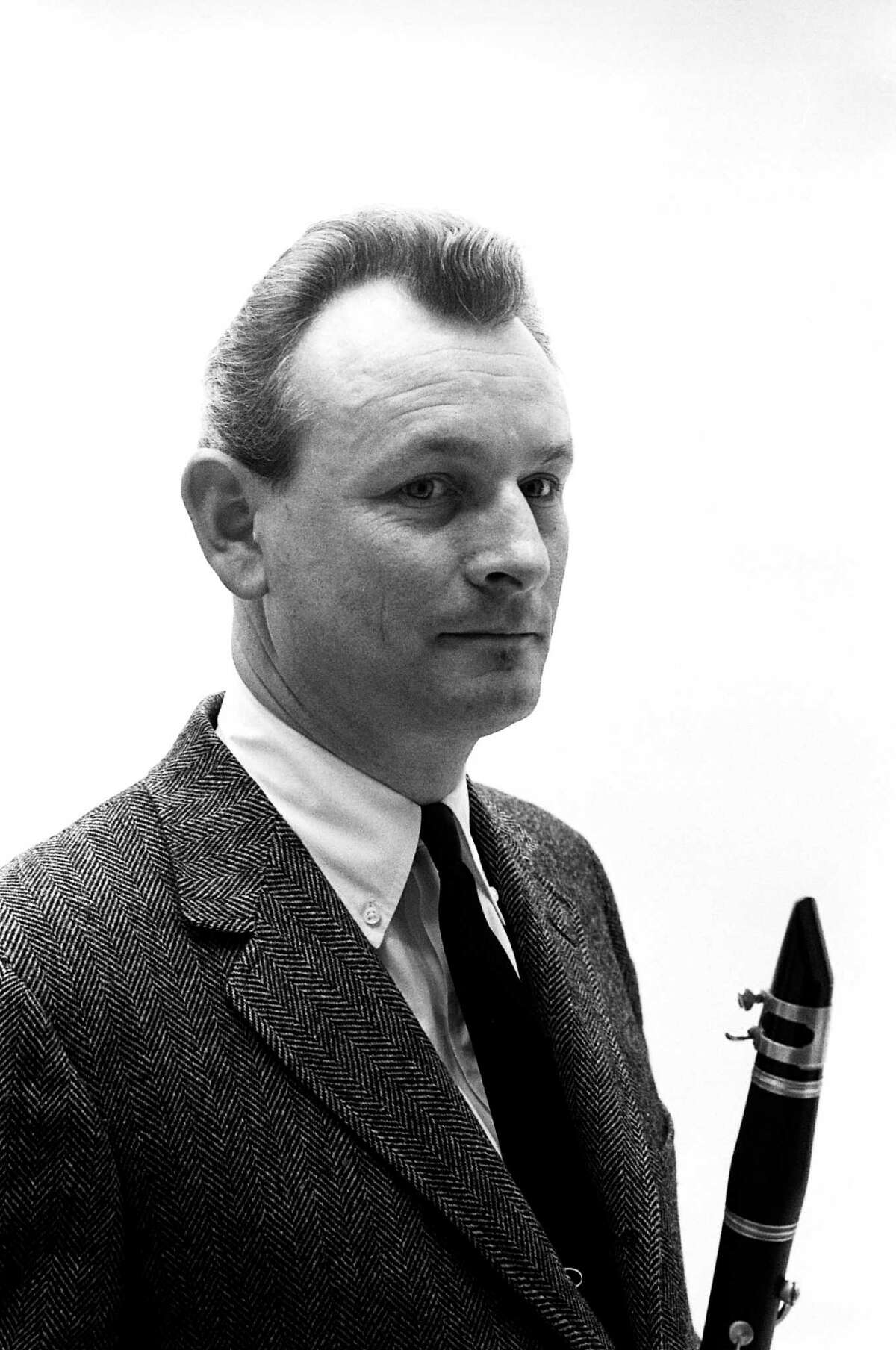 Jazz musician Jimmy Giuffre