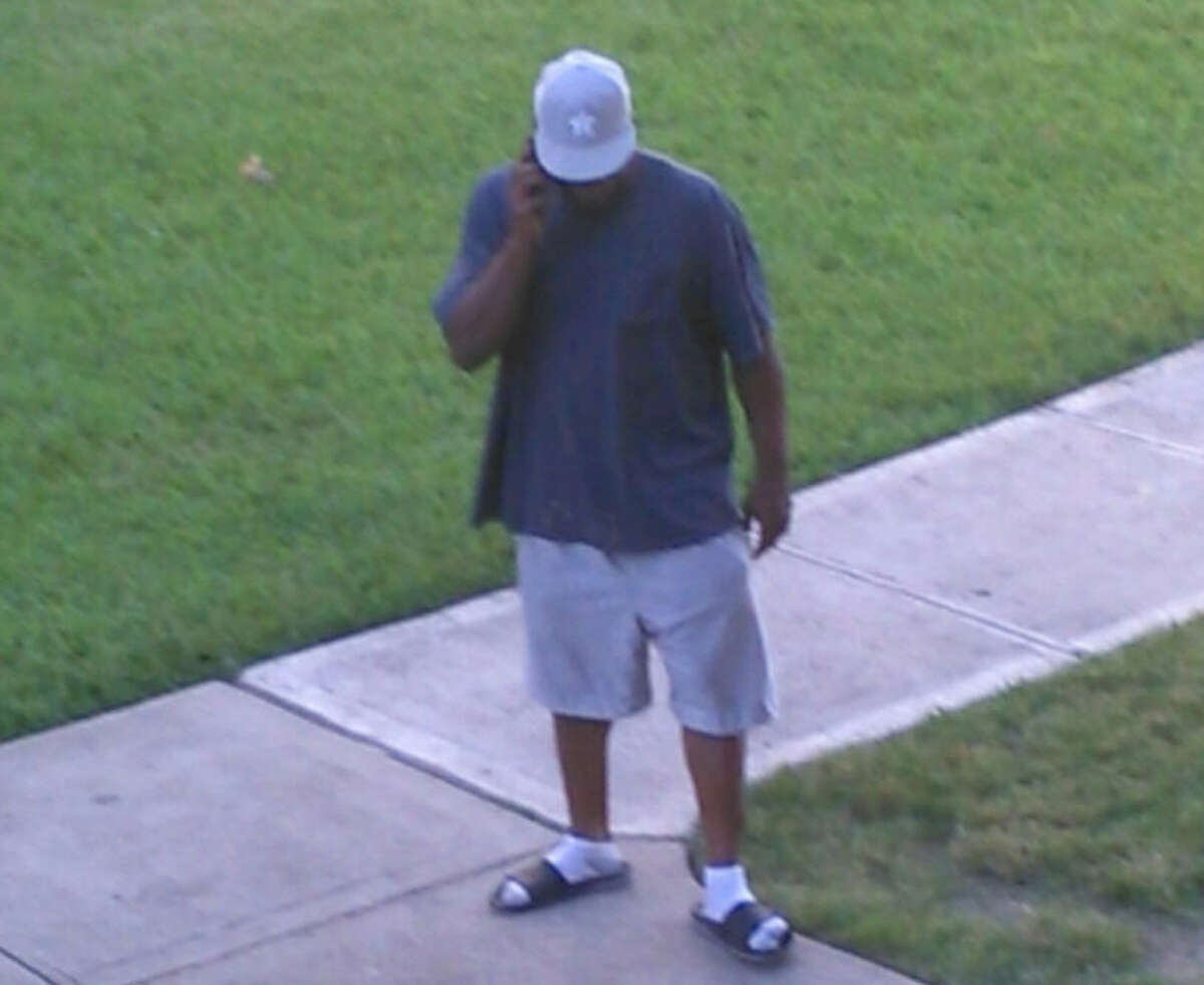 Authorities are asking the public to help them identify a man who recently exposed himself to children Saturday at an apartment complex in southeast Harris County.