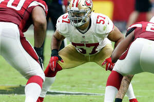 Wilhoite's starting status shaky after 49ers' trade for ILB - Photo