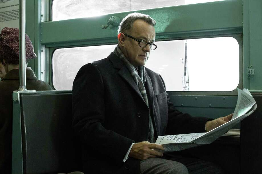 "In this image released by DreamWorks II Distribution Co., Tom Hanks portrays Brooklyn lawyer James Donovan in a scene from the Steven Spielberg film, ""Bridge of Spies."" The movie is due to open in U.S. theaters on Oct. 16, 2015. (Jaap Buitendijk/DreamWorks II Distribution Co. via AP) Photo: Jaap Buitendijk, HONS / Associated Press / DreamWorks II Distribution Co"