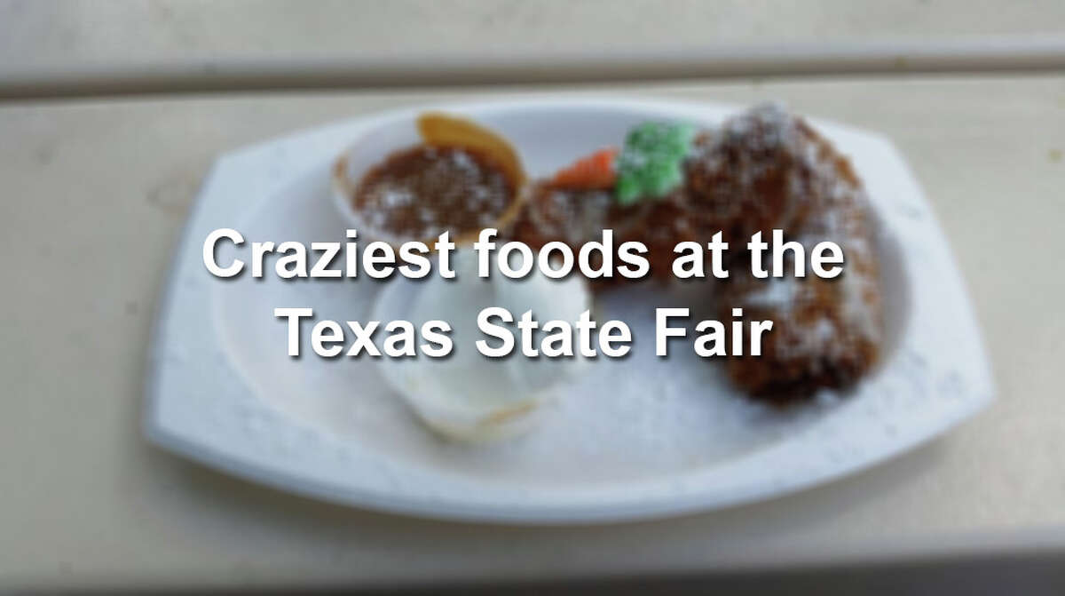 Click through the gallery to see some of the craziest fried concoctions at the state fair.