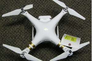 Saratoga cop-bird-flipper crashes drone into Capitol - Photo