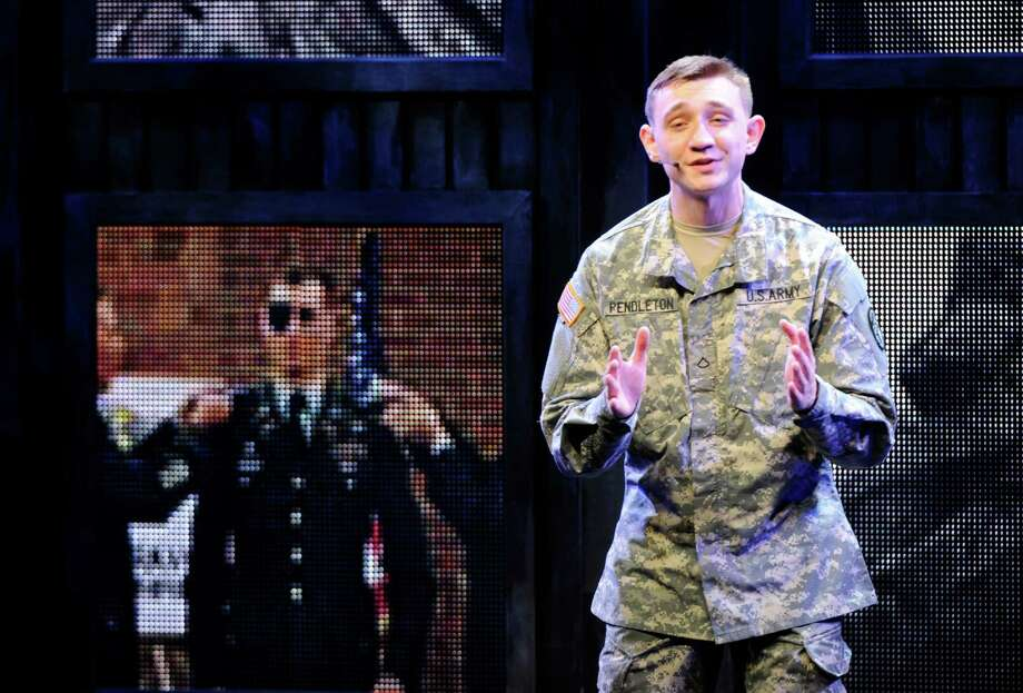 Specialist Eric Pendleton, who is stationed at Joint Base San Antonio-Fort Sam Houston, is touring the country as part of the U.S. Army Soldier Show. Photo: Courtesy Tim Hipps