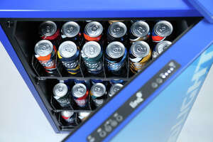 Bud Light's 'smart' fridge makes sure you have enough beer to watch the game - Photo