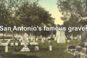 From rich socialites to iconic military figures, here are San Antonio's most famous graves - Photo