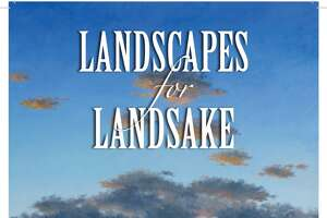 Landscapes for Landsake fundraiser in Cambridge - Photo