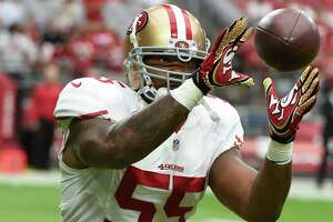 Ahmad Brooks away from 49ers for ?family reasons? - Photo