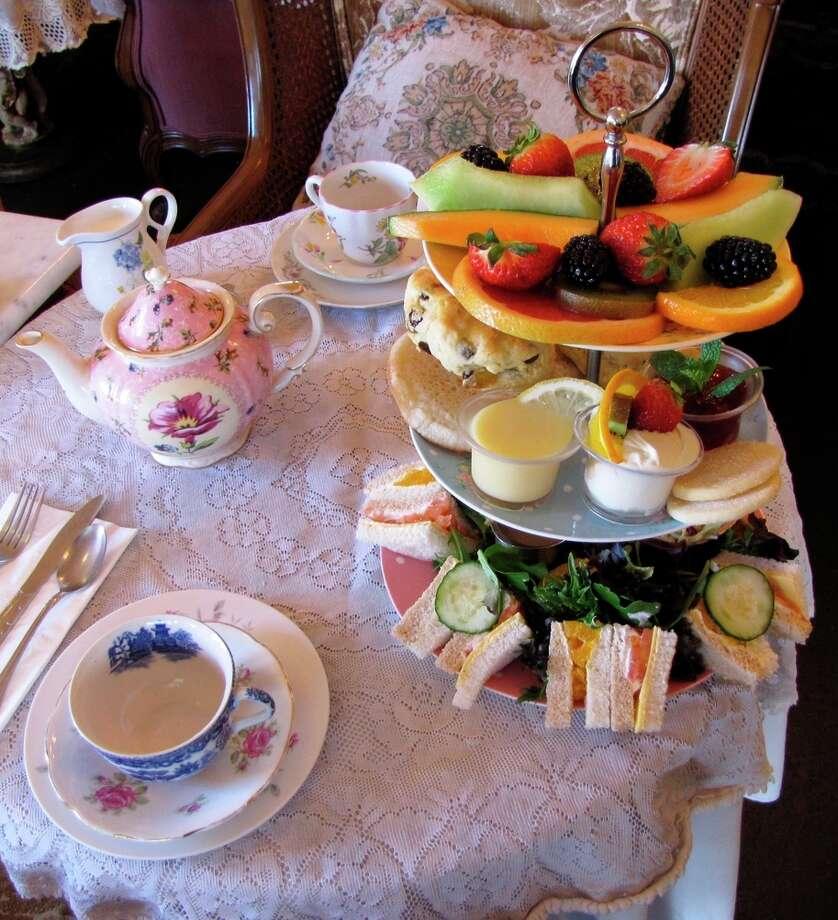 Lovejoy's Tea Room in Noe Valley.