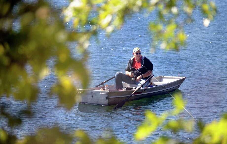 Ball Pond; New FairfieldFish: Largemouth Bass, Smallmouth Bass, Brown Bullhead, Brown Trout, Rainbow Trout, Yellow PerchSource: CTFishFinder Photo: Carol Kaliff, Hearst Connecticut Media / The News-Times