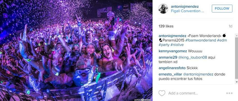 "The party billed as ""the ultimate,"" covering cities like Panama City and Austin in foam, is coming to San Antonio's Freeman Coliseum Expo Hall on Saturday. Photo: Mendoza, Madalyn S, Instagram.com"