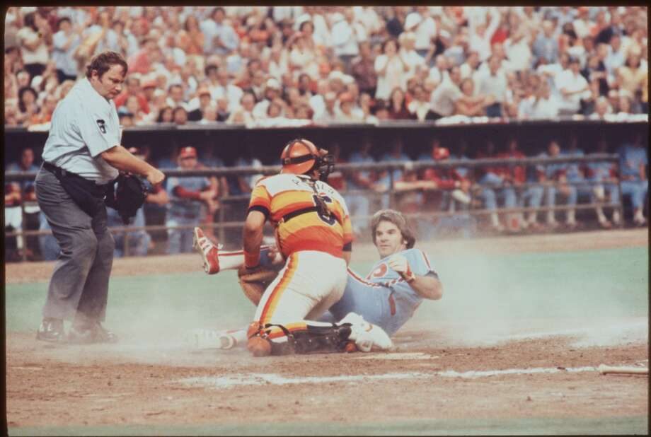 1980 NLCS: Phillies 3, Astros 2In their first playoff appearance, the Astros came out on the short end of one of the most dramatic playoff series in MLB history. The final four games all went to extra innings. The Astros had a chance to clinch in Game 4, but couldn't hold a 2-0 lead with six outs to go. Then in the climactic Game 5 at the Astrodome, Nolan Ryan took a 5-2 lead into the eighth inning, but the Phillies scored five times. The Astros tied the score in the bottom of the inning, but Gary Maddox's 10th inning RBI double provided the winning margin for Philadelphia. Photo: Houston Chronicle