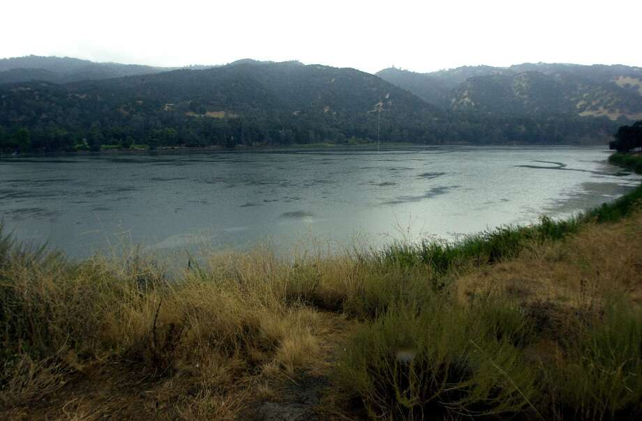 The body of a Salesforce worker was recovered from Lake Del Valle in Livermore Wednesday, ending a search that began Friday when a boat he and work colleagues were in capsized. Photo: Mark Costantini, SFC