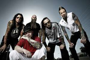 Five Finger Death Punch at Glens Falls Civic Center - Photo