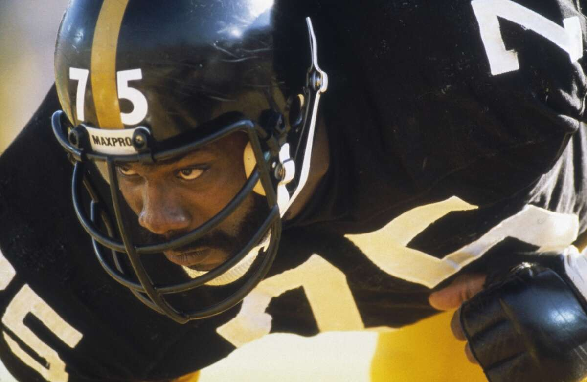 Pittsburgh: Joe Greene, defensive tackle Mean Joe was the cornerstone of the Steel Curtain. Four-time Super Bowl champion. Ten Pro Bowls, two-time NFL Defensive Player of the Year, Hall of Famer.