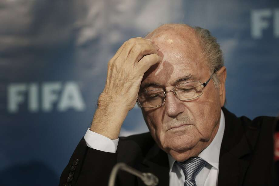 FIFA president Sepp Blatter was questioned by Swiss police last month. Photo: Christophe Ena, Associated Press