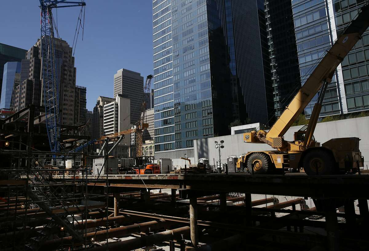 That city construction wraps up soon. Transbay Transit Center, we're looking at you.