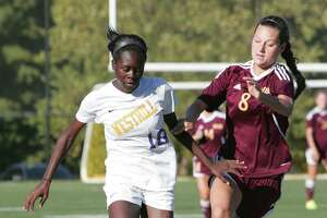 St. Joseph girls soccer fends off Westhill, 4-3 - Photo