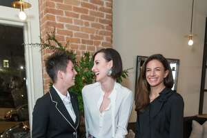 Jessica Silverman, Kaitlyn Trigger and Sabrina Buell co-hosted the Gucci dinner Oct. 6 at Octavia.