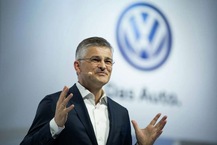 President and CEO of Volkswagen Group of America, Inc. Michael Horn is expected to testify before Congress today  that he first learned in 2014 of emissions problems with the German automaker's diesel cars. Photo: Kevin Hagen /Associated Press / FR170574 AP