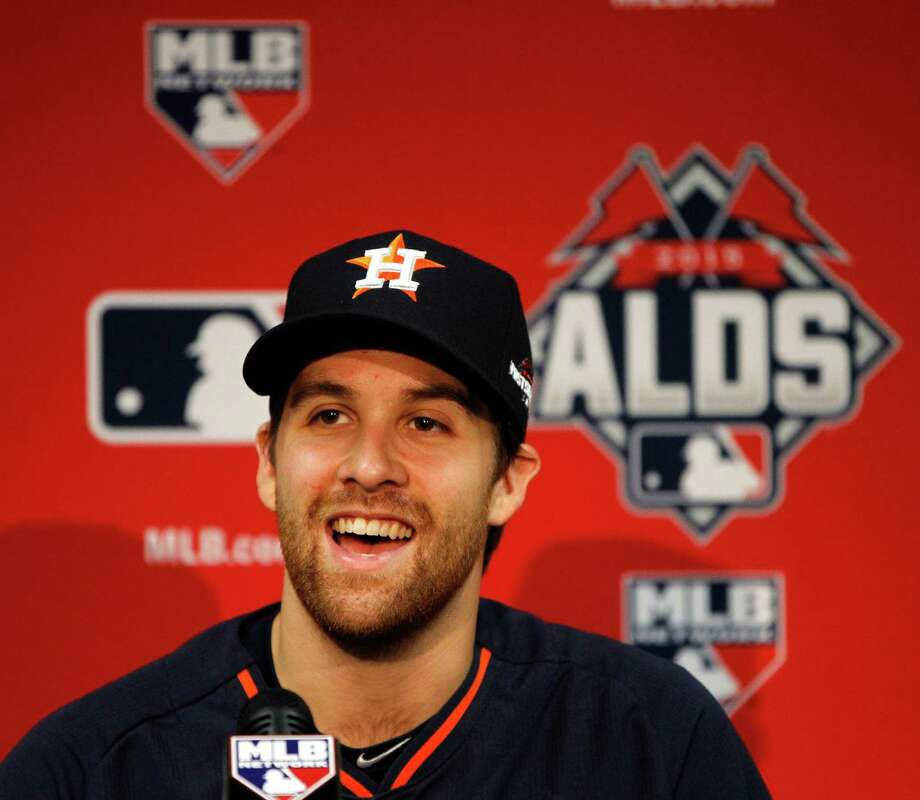With his major league career on the ropes two years ago, Collin McHugh says it was a blessing to be signed by the Astros and given the opportunity to re-establish himself. Photo: Karen Warren, Staff / © 2015 Houston Chronicle