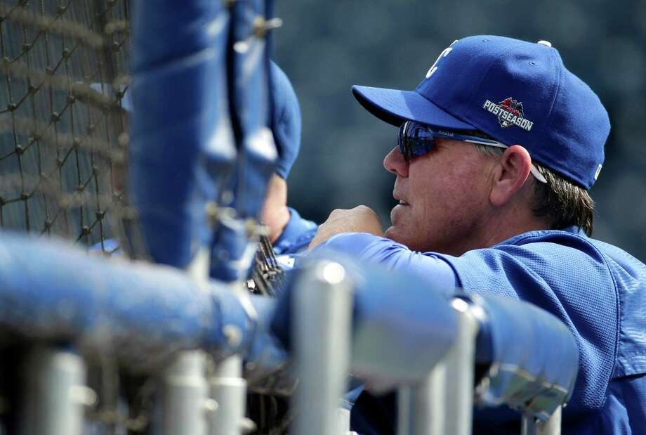 Manager Ned Yost helped orchestrate the Royals' turnaround from one of the major league's worst clubs to the American League's best record in 2015. Photo: Charlie Riedel, STF / AP