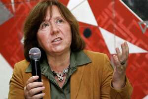 Svetlana Alexievich of Belarus wins Nobel literature prize - Photo