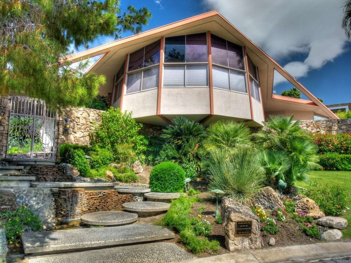This Palm Springs home, better known as The Honeymoon Hideaway of Elvis and Priscilla Presley, has hit the market for $6.93 million. The 55-year-old home is known for its modernist architecture, and includes four bedrooms, five bathrooms and a pool.