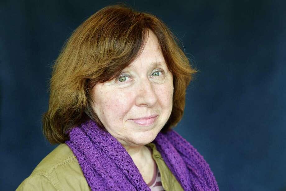 Svetlana Alexievich in Lyon, France, in 2014. Photo: Ulf Andersen / Getty Images / 2014 Ulf Andersen