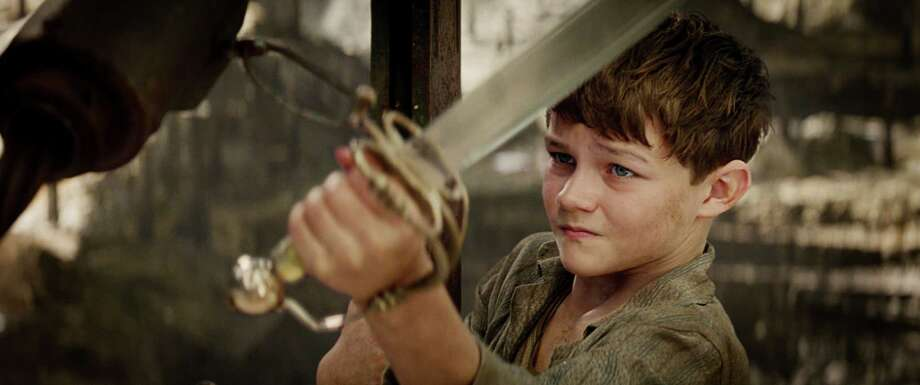 "Levi Miller as Peter in ""Pan."" Photo: Warners Bros. / Warner Bros. Pictures / (c) 2014 Warner Bros. Entertainment Inc. All Rights Reserved."