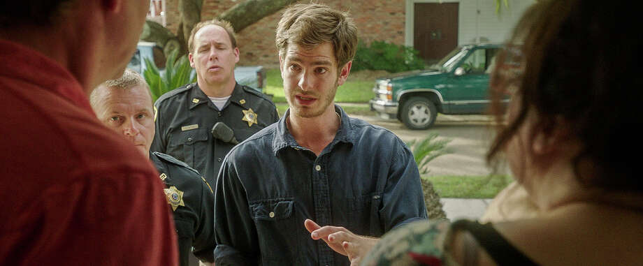 "In this image released by Broad Green Pictures, Andrew Garfield portrays Dennis Nash in a scene from ""99 Homes."" (Broad Green Pictures via AP) Photo: Broad Green Pictures, HONS / Associated Press / Broad Green Pictures"