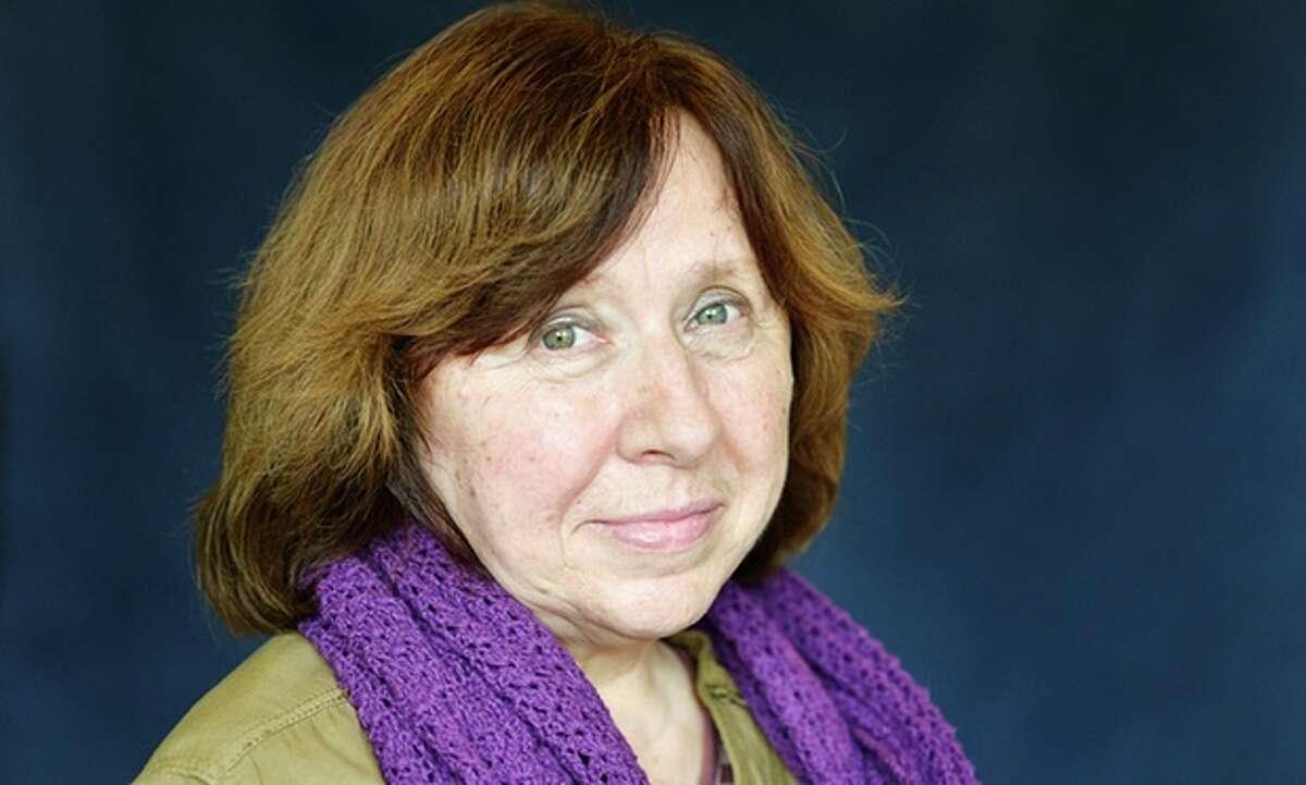 Svetlana Alexievitch, 2015, Belarusian. (Ulf Andersen/Getty)
