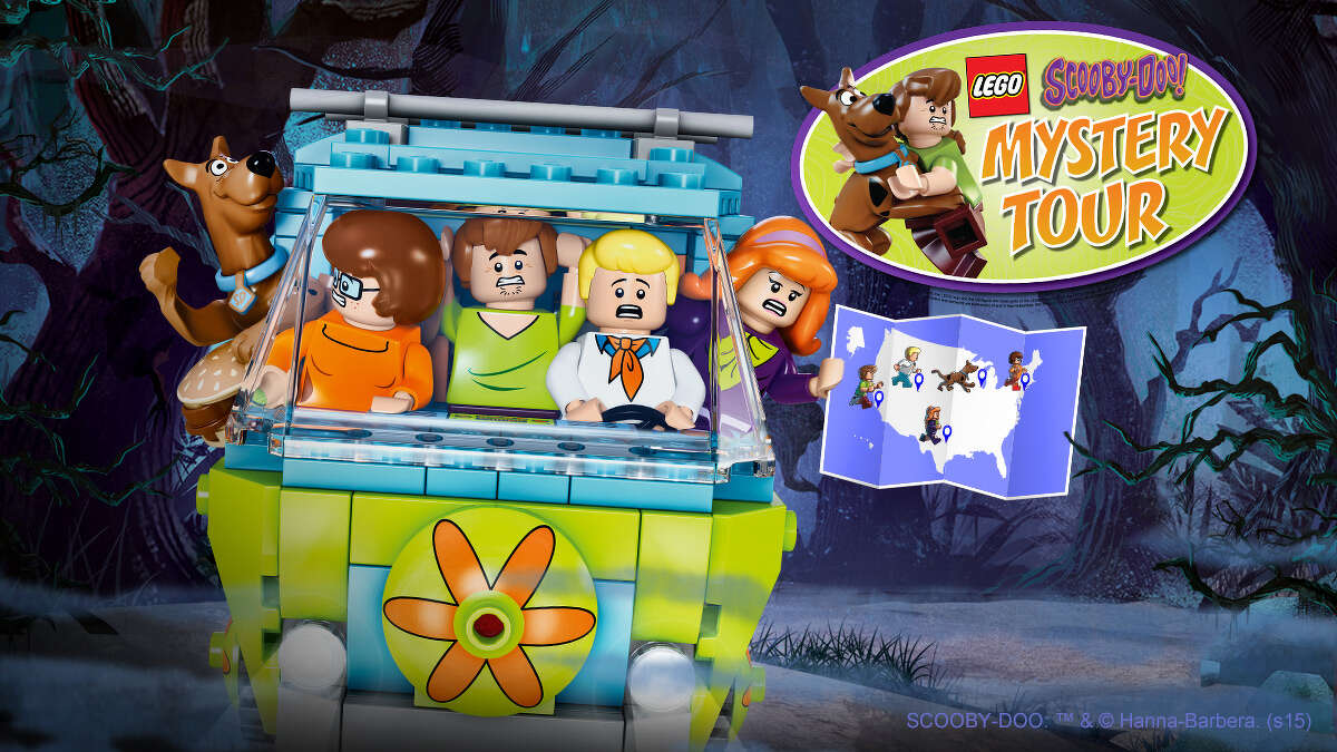 The LEGO Scooby-Doo Mystery Tour will visit Baybrook Mall, 1132 Baybrook Mall Drive, Friendswood, from 11 a.m.-3 p.m. Oct. 11. Visit LEGO.com/ScoobyDoo for details.