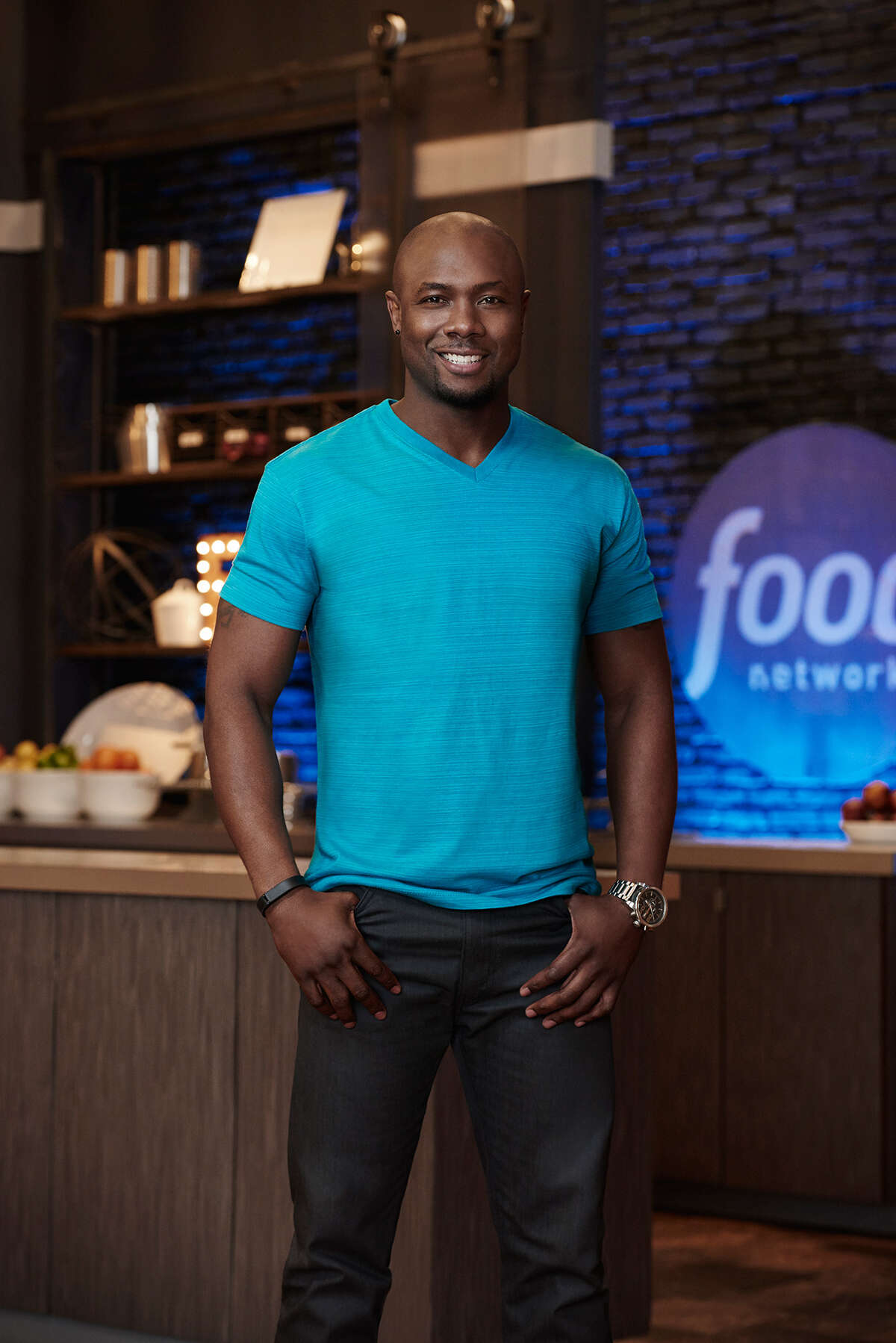 Houston's Eddie Jackson, a physical trainer and former NFL player, is one of the contestants on 11th season of