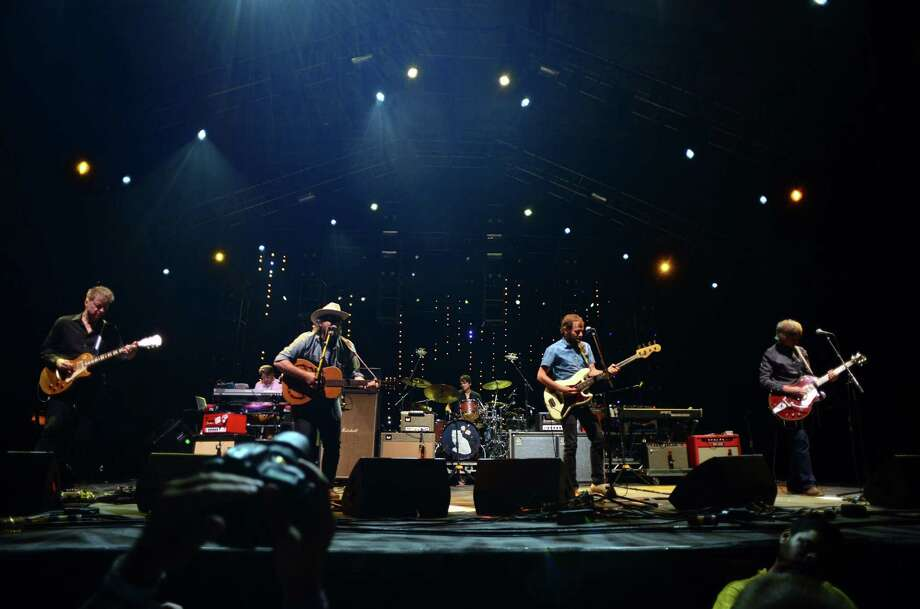 Along with the Dylan show at the arena, Wilco also performed at the 20th Annual Gathering of the Vibes at Seaside Park in Bridgeport, Conn., on Saturday August 1, 2015. Photo: Christian Abraham / Hearst Connecticut Media / Connecticut Post/Contributed Photo