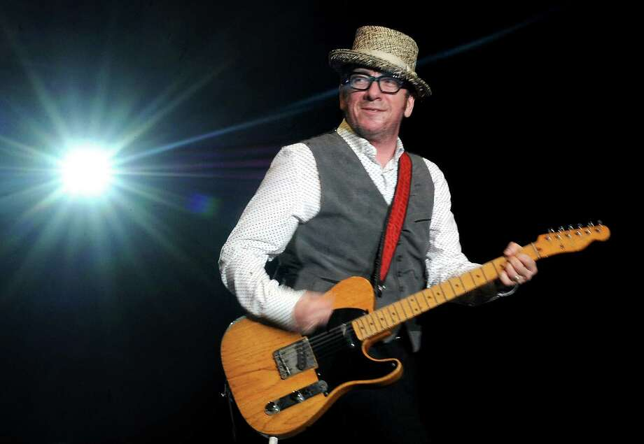 Elvis Costello also peformed at the Webster Bank Arena. He also performed during The Gathering of the Vibes festival on July 23, 2011. Photo: Lindsay Niegelberg / ST / Connecticut Post staff