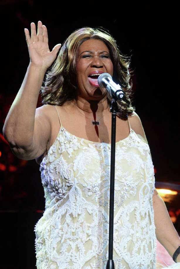 Aretha Franklin performs at the Webster Bank Arena in downtown Bridgeport, Conn., on Friday Mar. 20, 2015. Photo: Christian Abraham / Christian Abraham / Connecticut Post