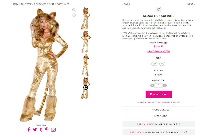 The costume in question can be found on Yandy.com.