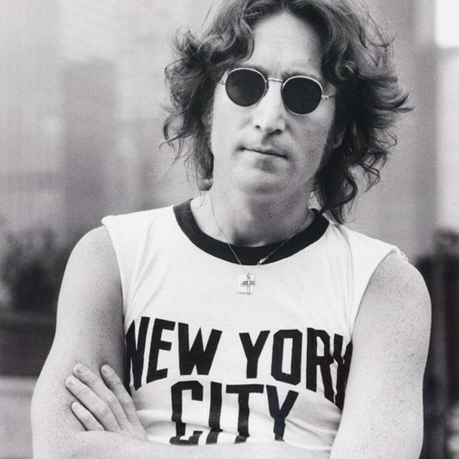 John Lennon, New York City  -  1974. Photo: Bob Gruen / ONLINE_YES