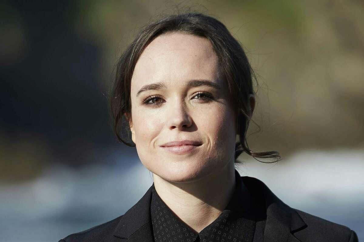 Actress Ellen Page.