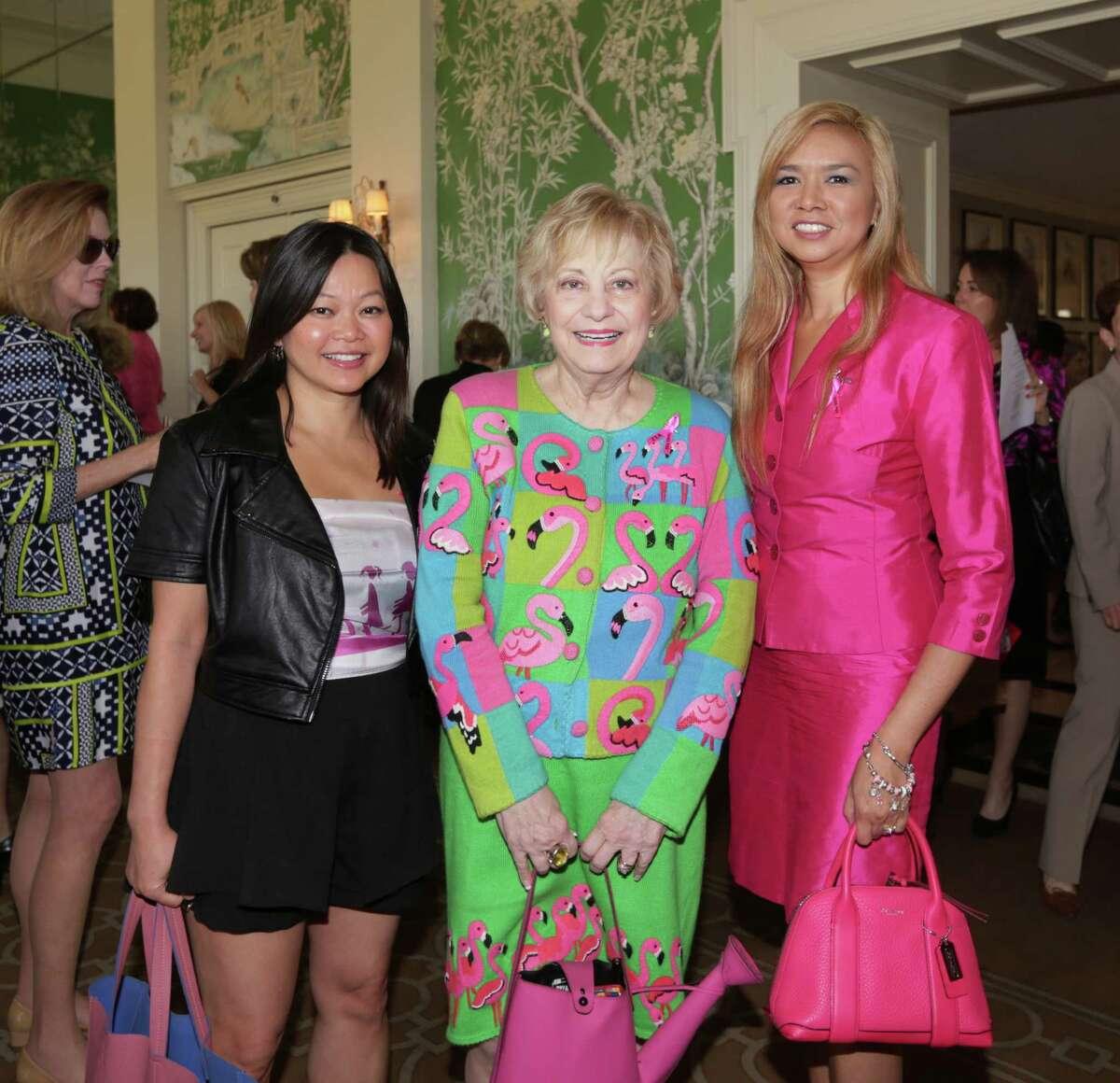 Chloe Dao, Kay King and Peta-Gay Ledbetter