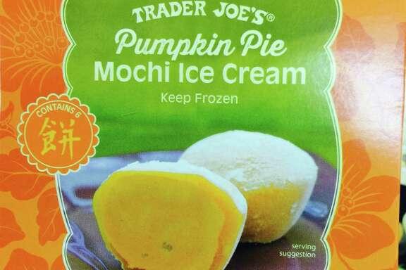 Pumpkin Pie Mochi Ice Cream