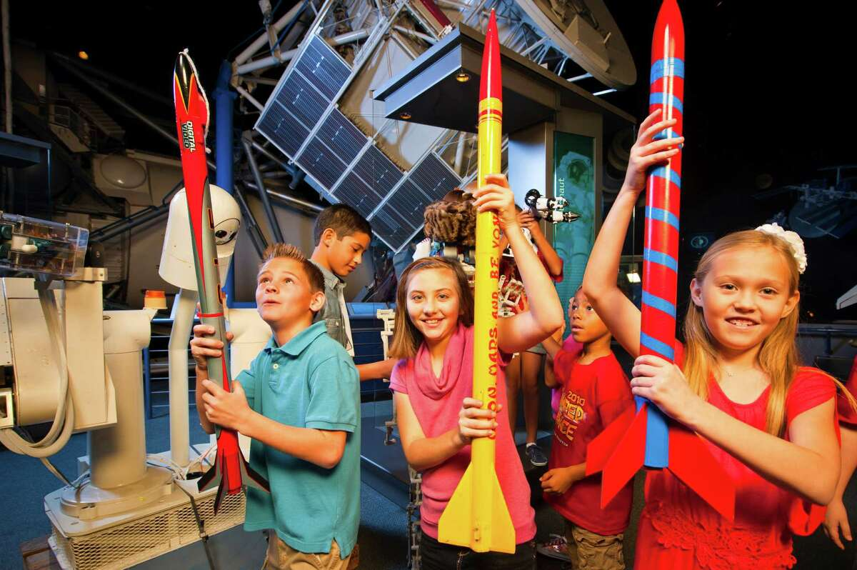Campers can learn about engineering a rover, explore the world of science fiction and discover 3D printing works at Space Center Houston's winter camps, Dec. 21-23 and 28-30.