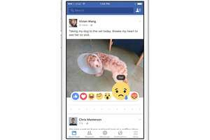 Facebook testing out emotional new feature - Photo