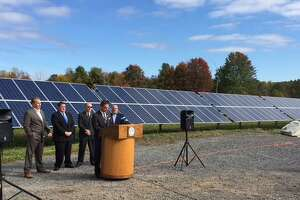 Schenectady County debuts solar farm in Glenville - Photo