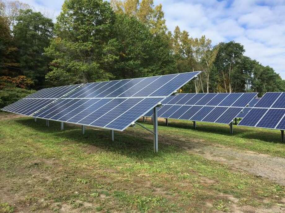 Solar is on the rise in the region. Click through the slideshow to learn more about businesses and homes that have gone solar in our area. To find a NYSERDA-certified vendor, click here. Schenectady County expands its renewable energy program as it opens new solar farm in Glenville, NY, on Thursday, Oct. 8, 2015. (Skip Dickstein/Times Union)