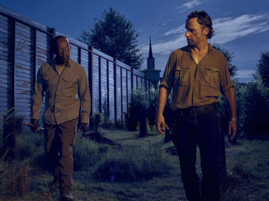 The sixth season of The Walking Dead begins Sunday, October 11th at 8/9 p.m. on AMC. Here's a look back on what happened in the fifth season: Photo: Frank Ockenfels 3/AMC