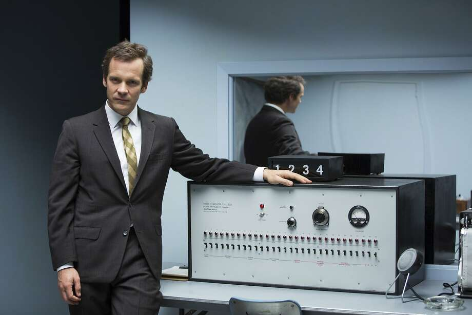 "Peter Sarsgaard stars in ""Experimenter"" as psychologist Stanley Milgram, who explored what allowed WWII Germans to follow unfathomably cruel orders. Photo: Magnolia Pictures"