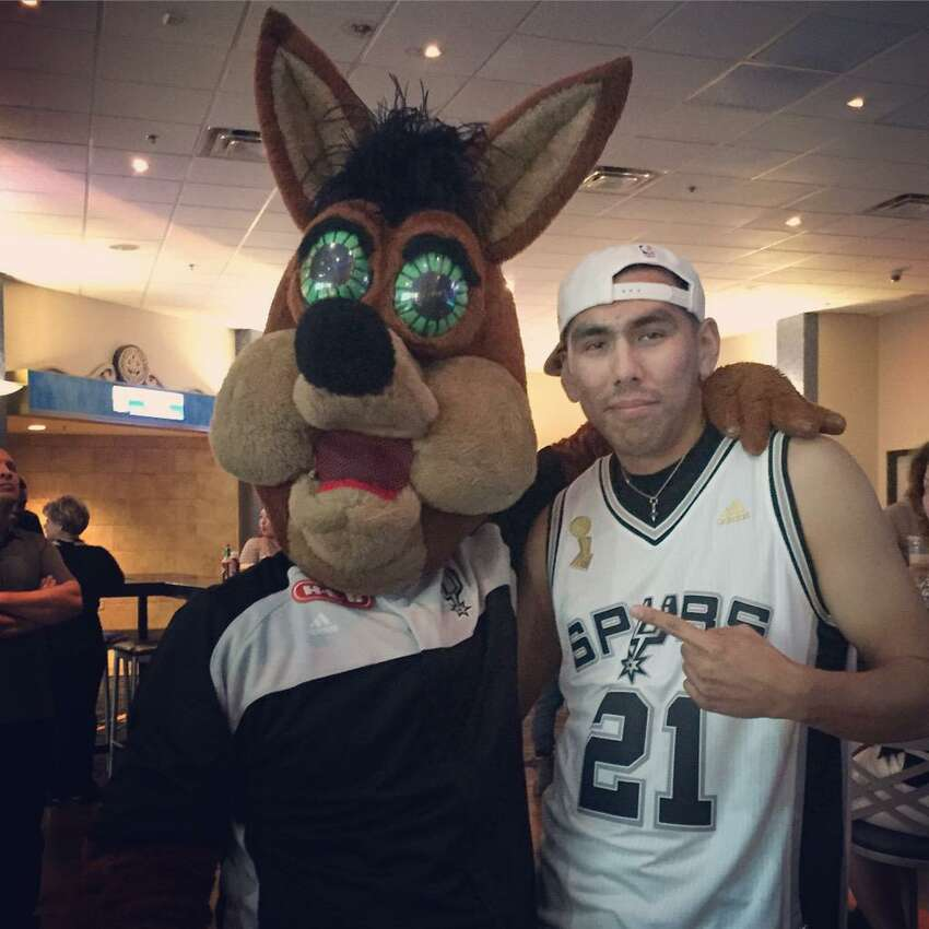 Estrada, told mySA.com No. 2! made an appearance at the Rookie Tip-Off event held by the Spurs organization at the Palladium for new season ticket holders like himself.