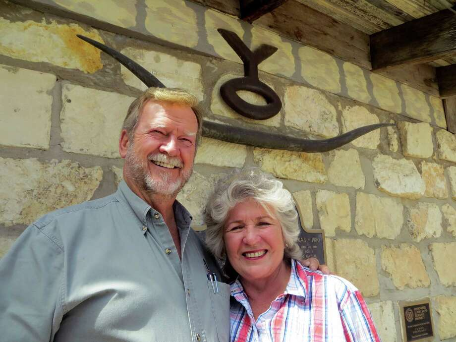Byron and Sandra Sadler this week 10-5-15 bought 5,300 acres of the roughly 27,000-acre YO Ranch in Kerr County with silent partners Lacy and Dorothy Harber. The area they bought includes a lodge, cabins, a dining hall, swimming pool and other improvements. They Sadlers, as managing partners, plan to reopen it later this month as a game ranch/ resort/ corporate retreat called The YO Ranch Headquarters. Photo: Zeke MacCormack / San Antonio Express-News / San Antonio Express-News