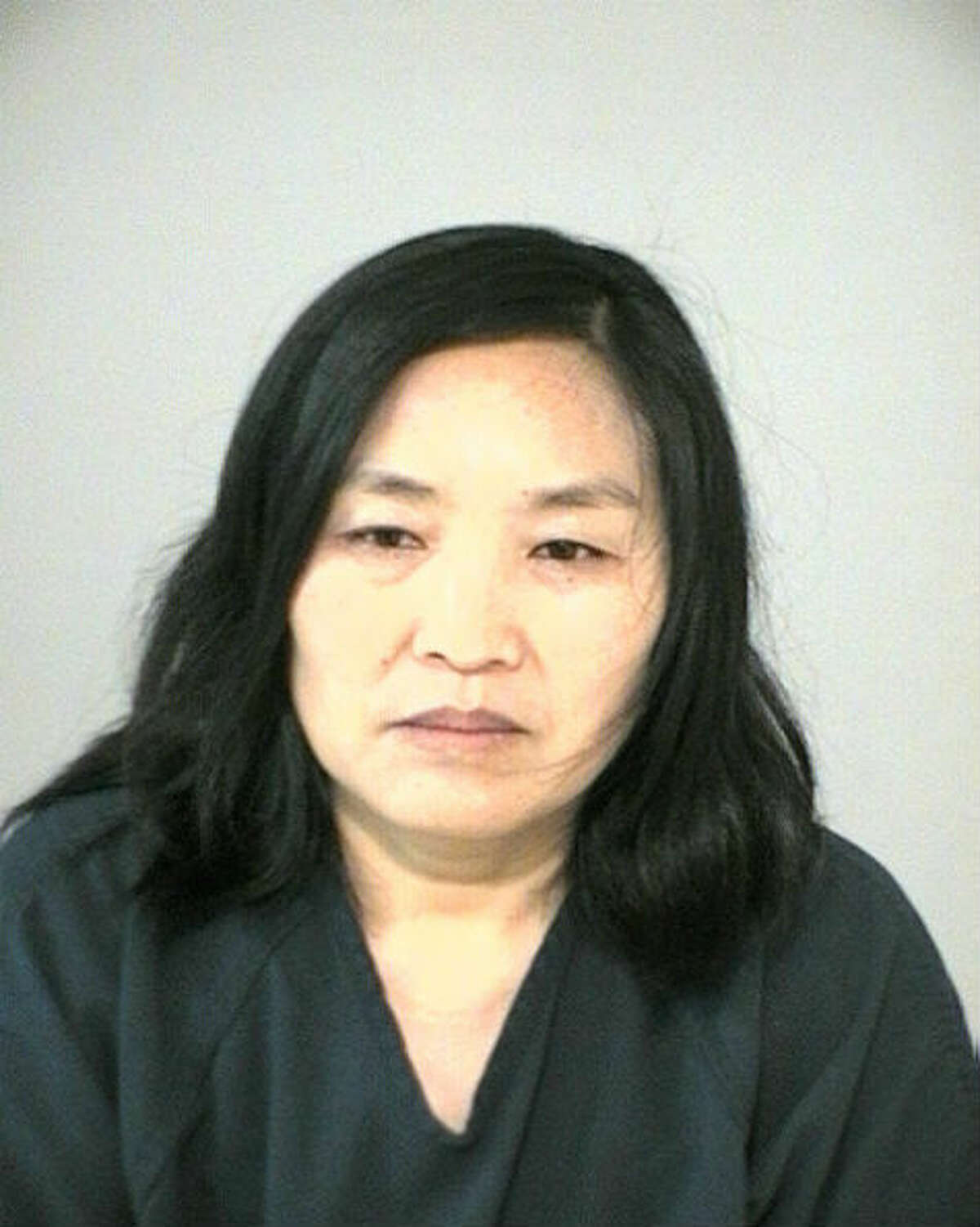 Junying Wang, 49, was arrested and charged with prostitution during a bust of the Oasis Foot Reflexology spa in Cinco Ranch.